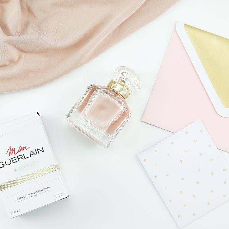 """Check out the new scent """"Mon Guerlain"""": https://www.flaconi.de/parfum/guerlain/mon-guerlain/guerlain-mon-guerlain-eau-de-parfum.html?som=pinterest.post.flaconi_monguerlain_170914."""