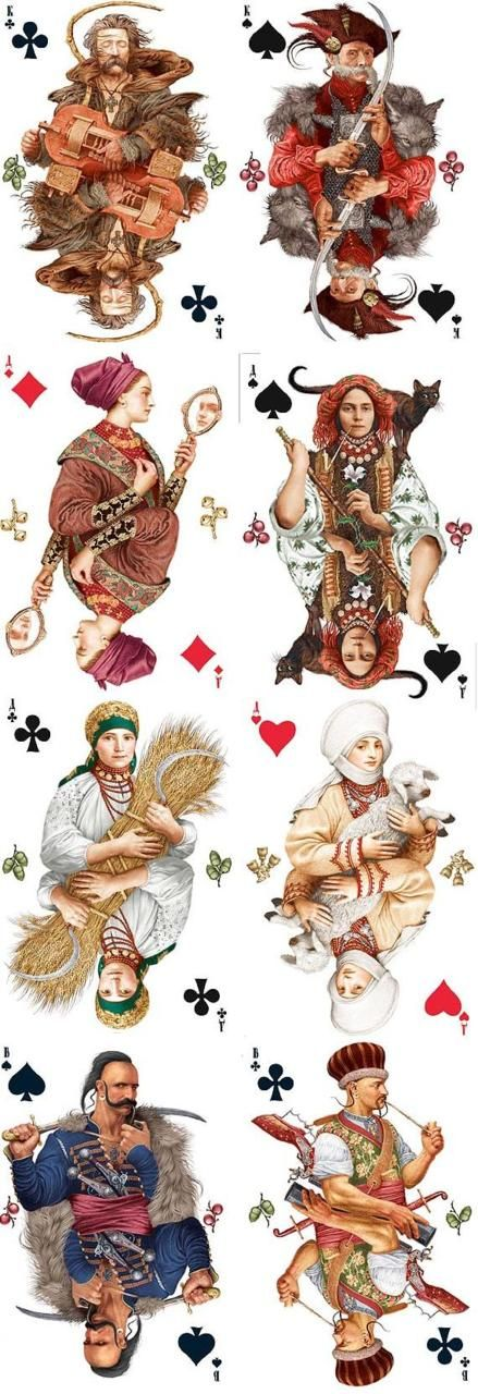 playing cards by Vladslav Erko  ~1eyeJACK~