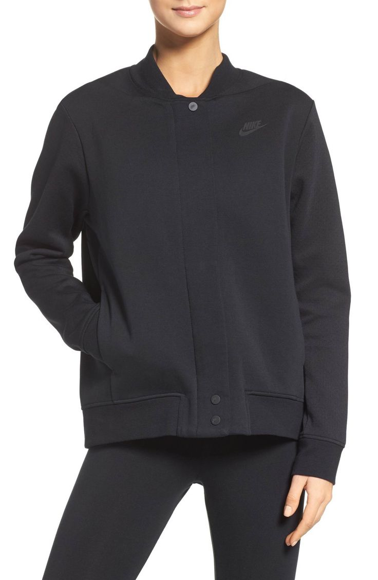 Main Image - Nike Tech Fleece Destroyer Jacket