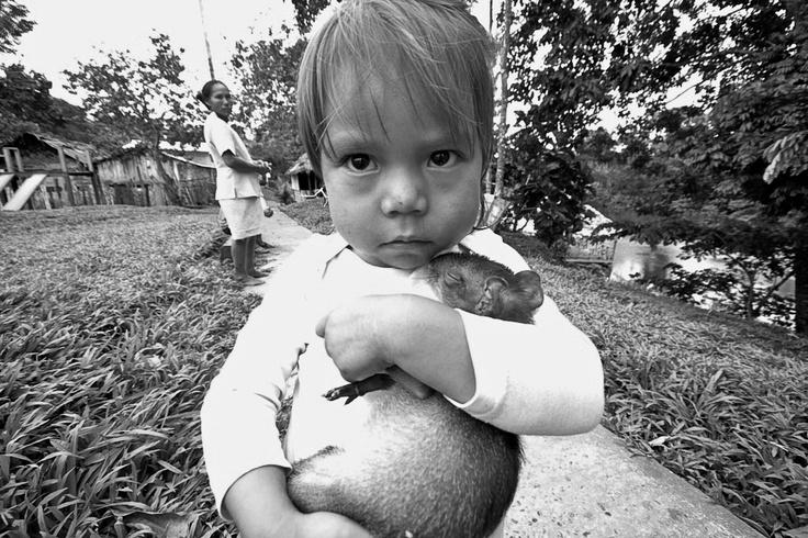 Cutie Pie! San Juan del Soco, Colombian Amazon