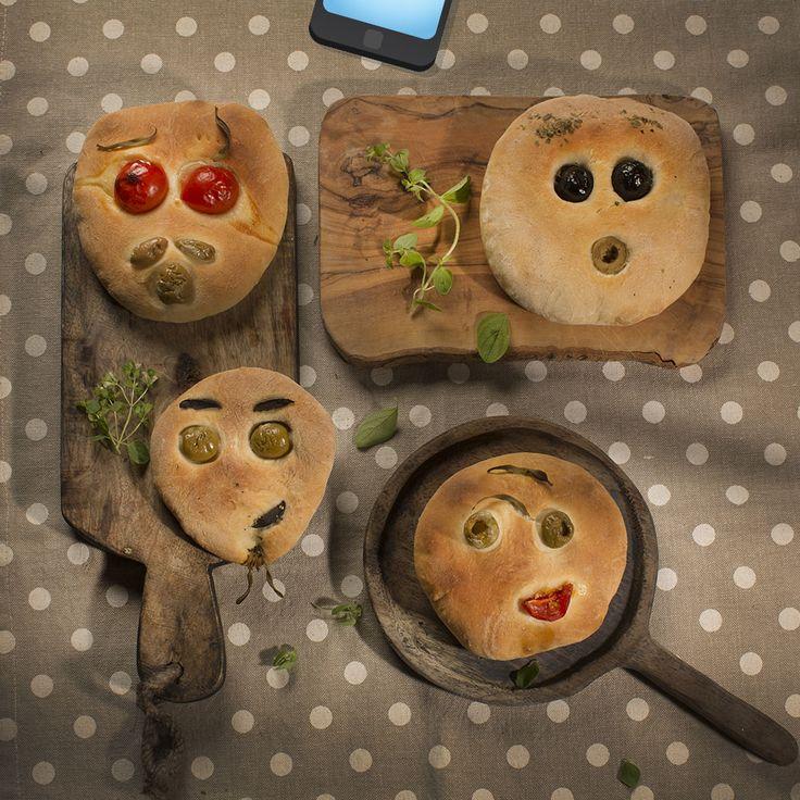 Фокачча с помидорами черри и оливками - Детские рецепты с фотографиями от Bonduelle.ru