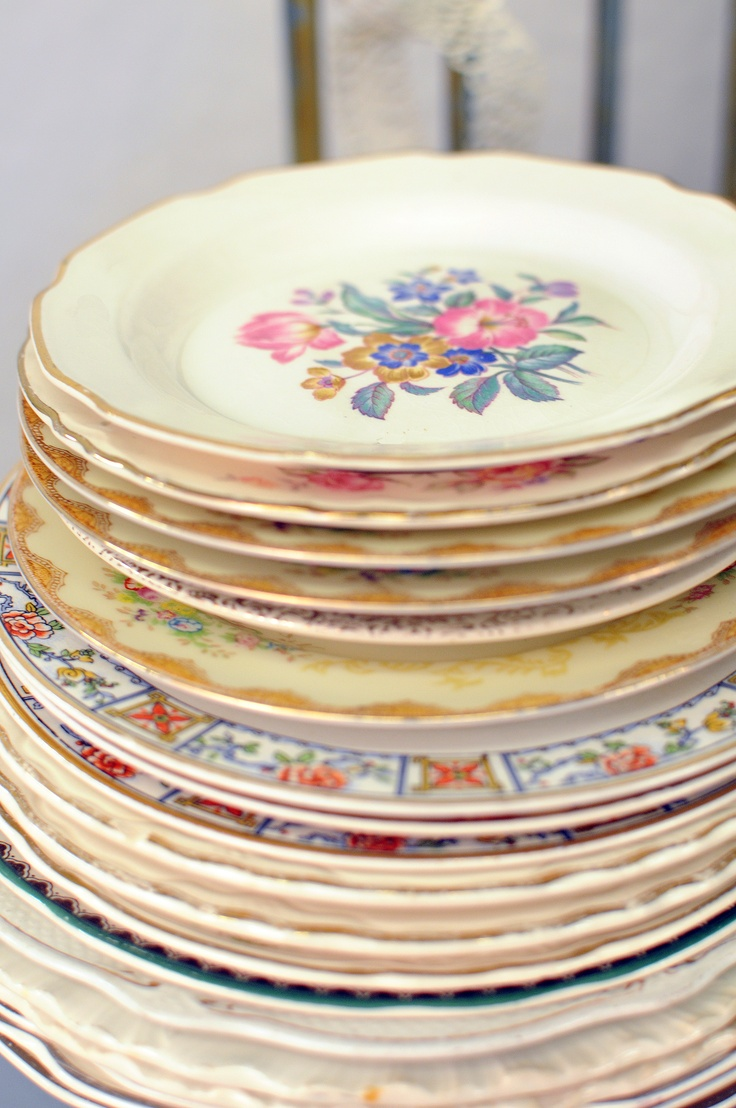 Awesome Vintage Plates For Wedding Contemporary Styles Ideas
