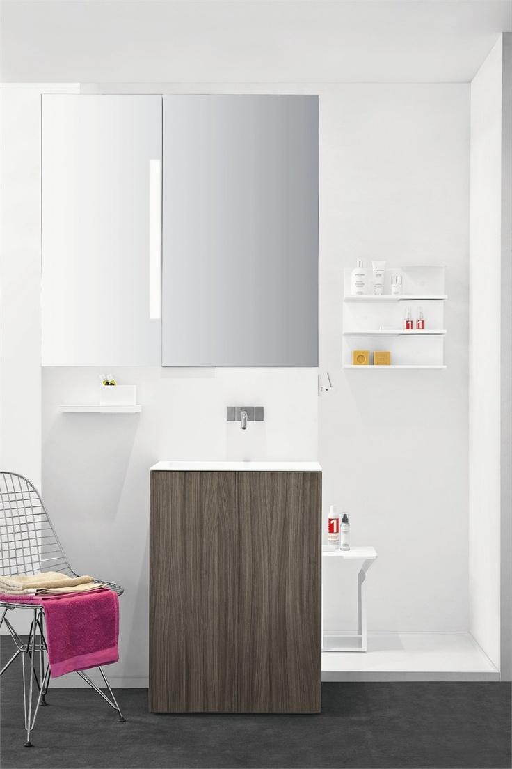 Washbasin Unit Light 30 By Makro Design Bathroom Vitra Furniture Eames Interiors