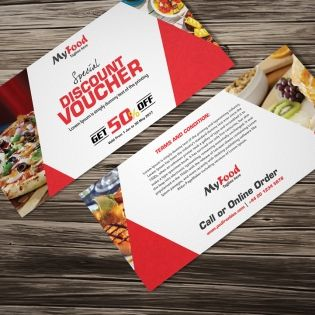 Free Lunch Coupon Template Beauteous 19 Best Voucher Images On Pinterest  Gift Voucher Design Gift .