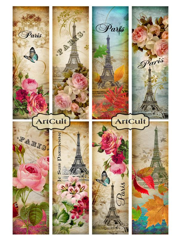 paris bookmarks....