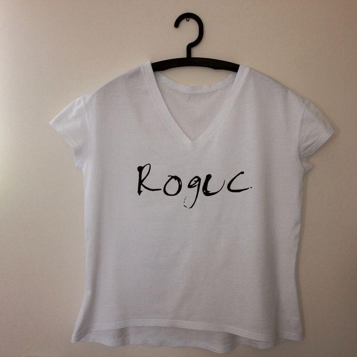 """""""Roguc"""" koszulka ręcznie malowana"""