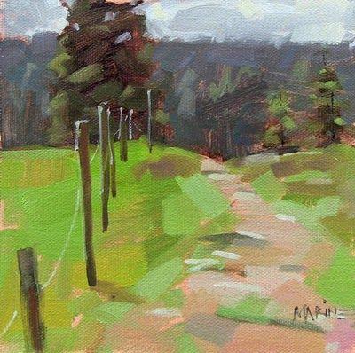 Uphill path sold original fine art for sale for Original fine art paintings for sale