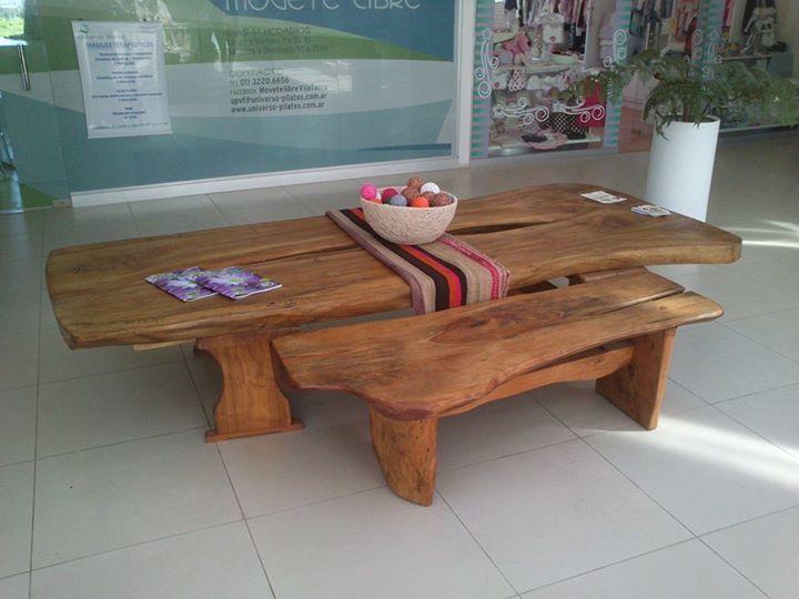 Las 25 mejores ideas sobre bancos de troncos de madera en for Muebles con troncos