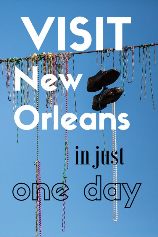 Part 1: Only one day to visit New Orleans? What to do? - Tracie Travels >>> A travel guide for visiting New Orleans in just a day. There are two parts to this extensive guide!