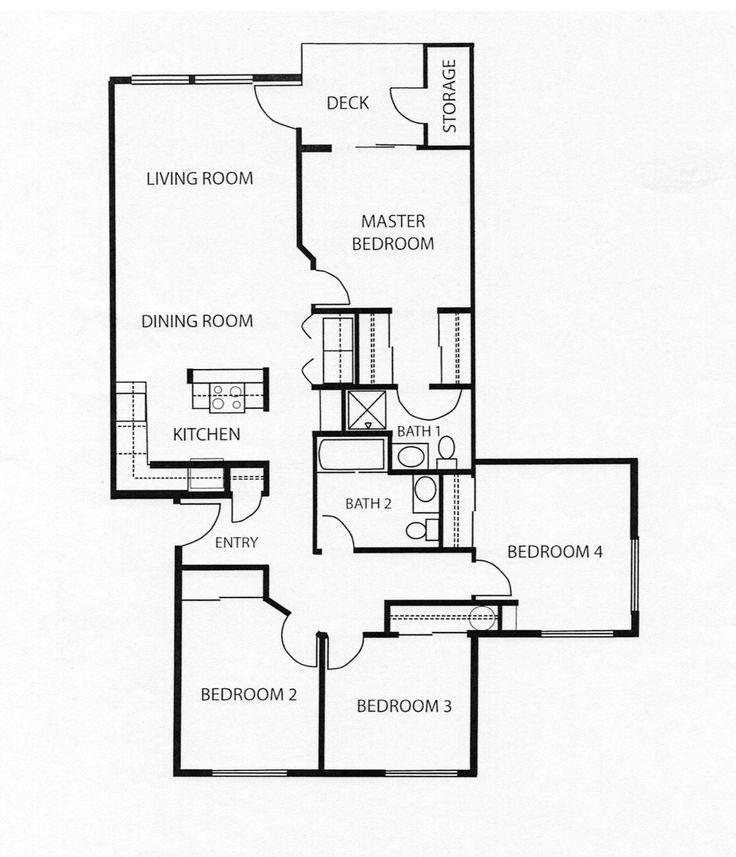 4 Bedroom Apartment Floor Plans: 25 Best NAS Key West, FL Images On Pinterest