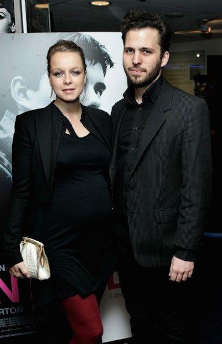 Samantha Morton and Harry Holm during 'Control' Gala Screening....