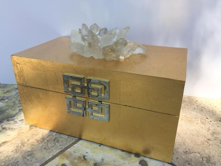 Decorative Display Boxes Entrancing 41 Best Decorative Gemstone & Mineral Boxes Images On Pinterest Design Inspiration