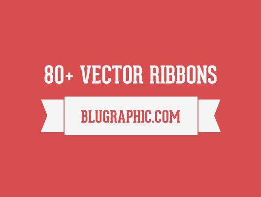 80+ Vector Ribbons