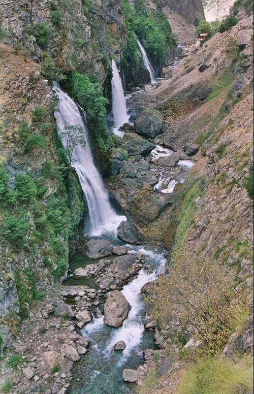 kapuzbasi waterfalls - kapuzbasi, Kayseri**.