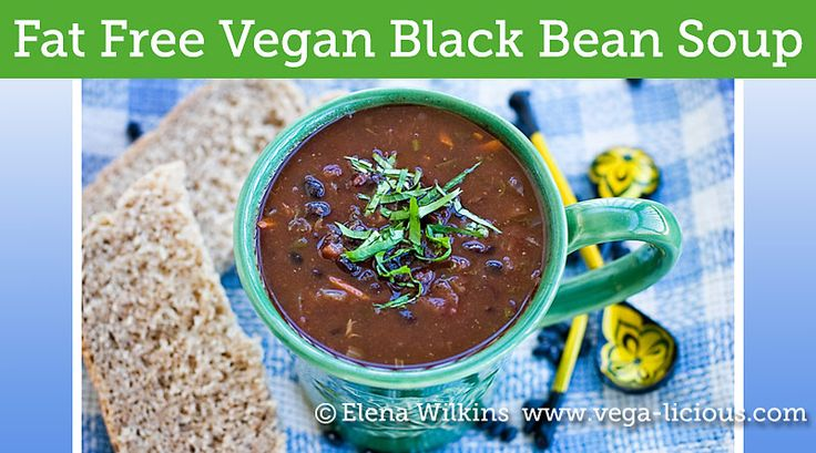 The best fat free, plant-based black bean soup recipes. It is full of flavor and will warm your heart and soul any day of the week. #danielfast