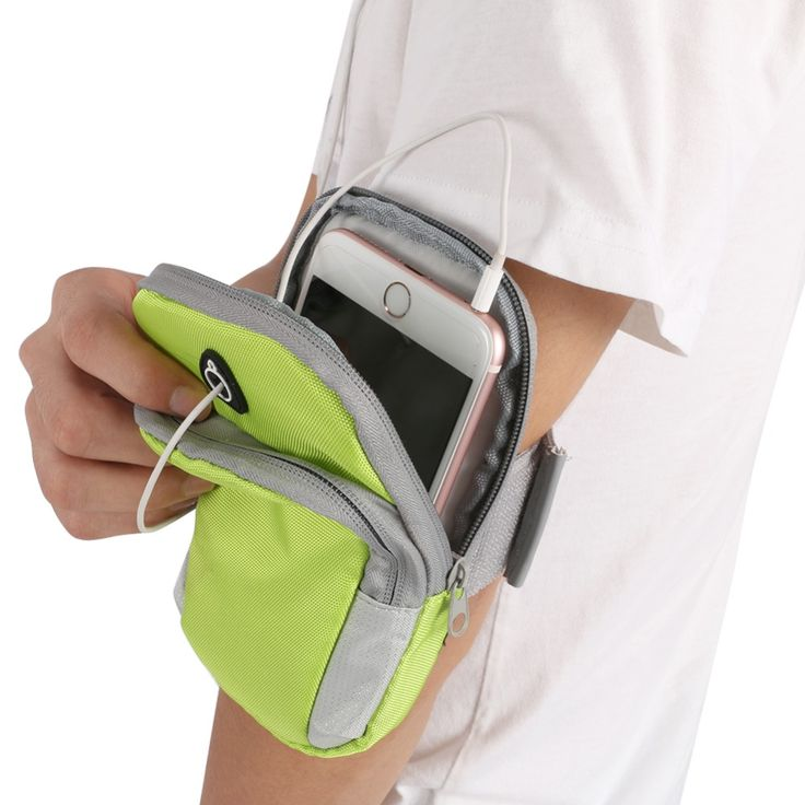 Unisex Men Women Running Bag Jogging Sport Armband Gym Arm Band Case Cover for iPhone 6/6 Plus