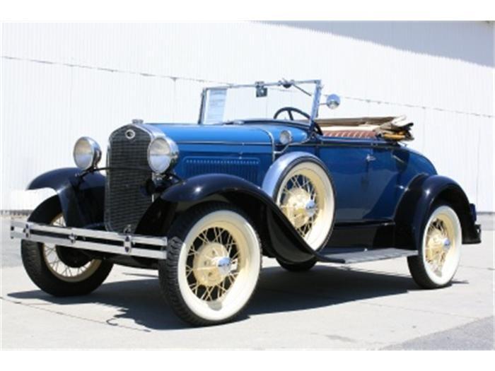 1931 Model A Ford & 1832 best Antique Motor Cars images on Pinterest | Vintage cars ... markmcfarlin.com