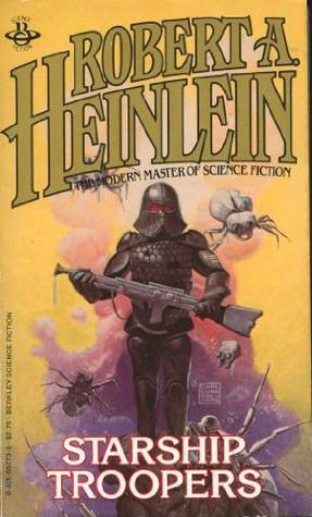 Starship Troopers by Robert Heinlein this is one of my favorite books on the planet and from what i hear required reading for the usmc