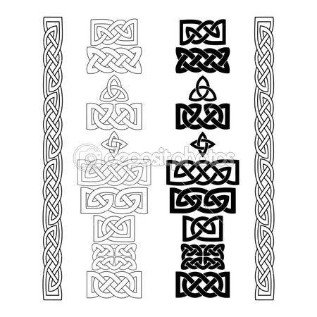 Celtic knots, patterns — Stock Illustration #45455449