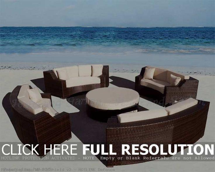 Captivating 15 Remarkable Round Patio Furniture Snapshot Inspiration