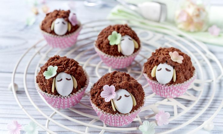 Schaf-Muffins  Rezept | Dr. Oetker