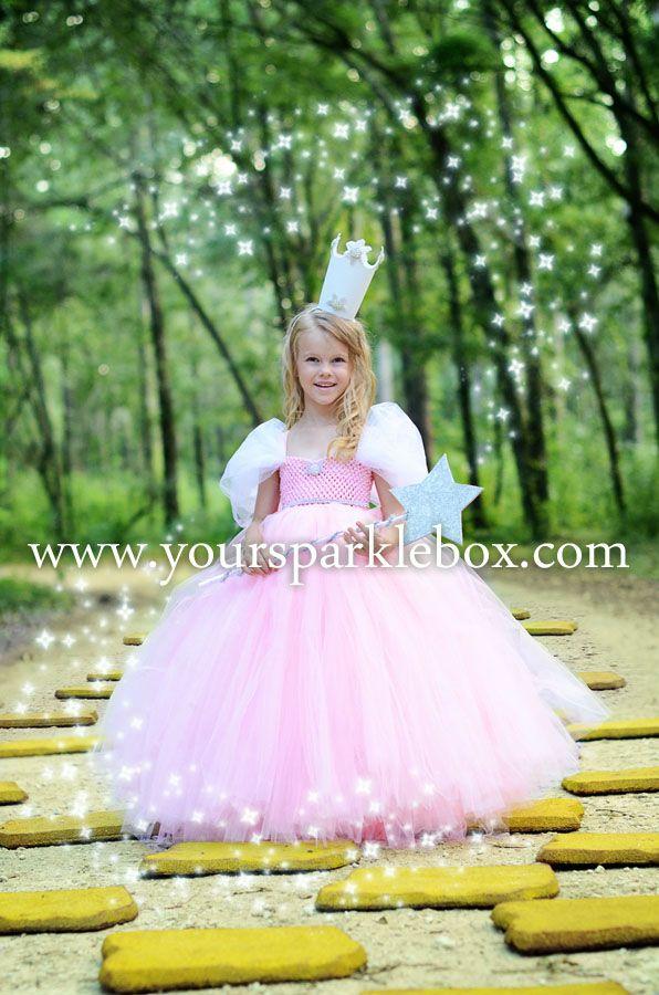 Glinda the Good Witch Tutu Dress Costume by YourSparkleBox