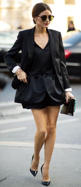 Olivia in black. Olivia in black. Olivia in black.