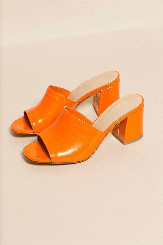Maryam Nassir Zadeh - Orange Patent Mar