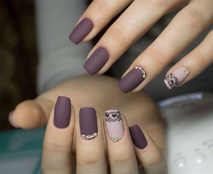 Элегантный и нежный маникюр с использованием гель-лаков #Kodi №90 и №254.  #ногти #шеллак #гельлак #manicure #gellak #shellac #маникюркиев #дизайнногтей #tufishop