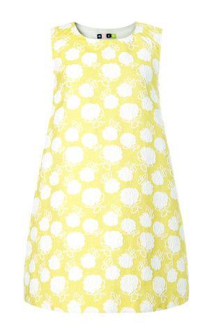 Rose Jacquard Trapeze Dress by MSGM - Moda Operandi