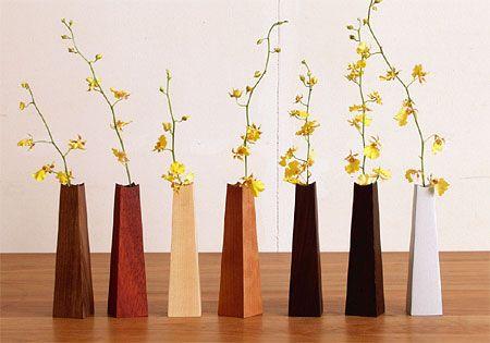 HIROMATSU FURNITURE - wood vase