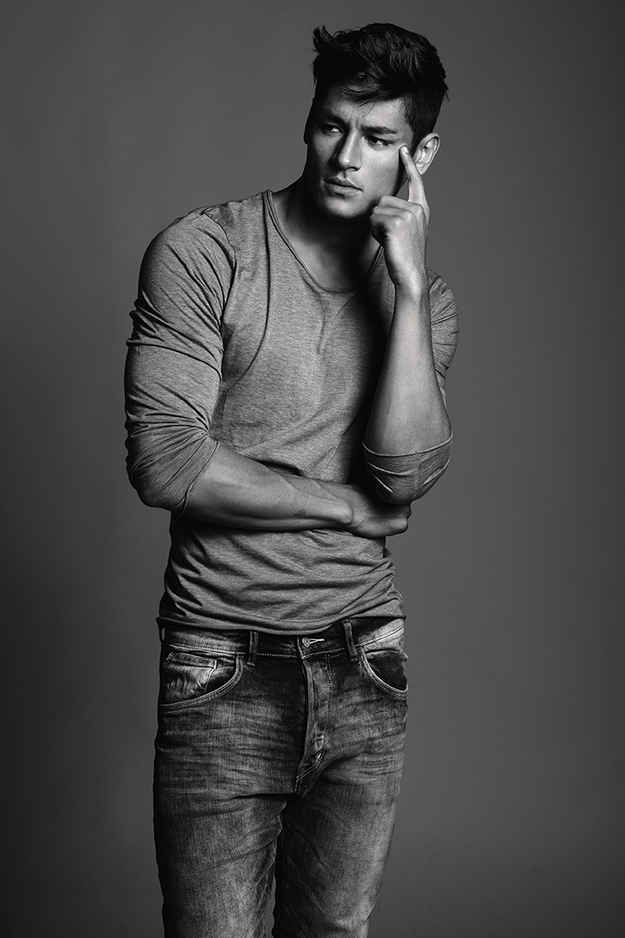 He was born in Brazil and is half Japanese. | Meet Hideo Muraoka, Your New Favorite Male Model