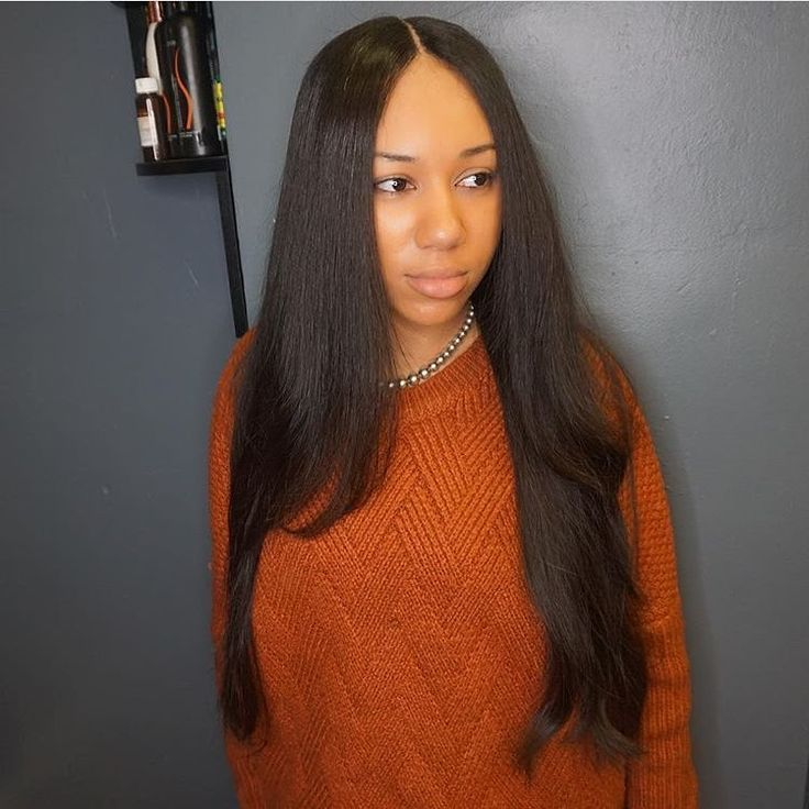 557 best weaves hair extensions images on pinterest hairstyles install is so flat that people think its your hair by bostonstylist crownedbyher pmusecretfo Image collections