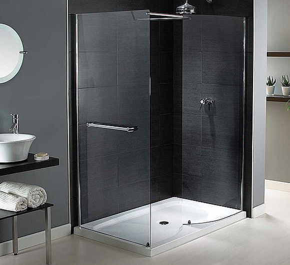 Doorless Walk in Showers Design Ideas