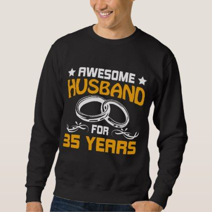#Best T-Shirt For Husband. 35th Anniversary Gift. - #wedding gifts #marriage love couples