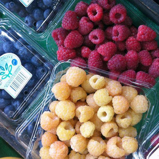 January fruit berries