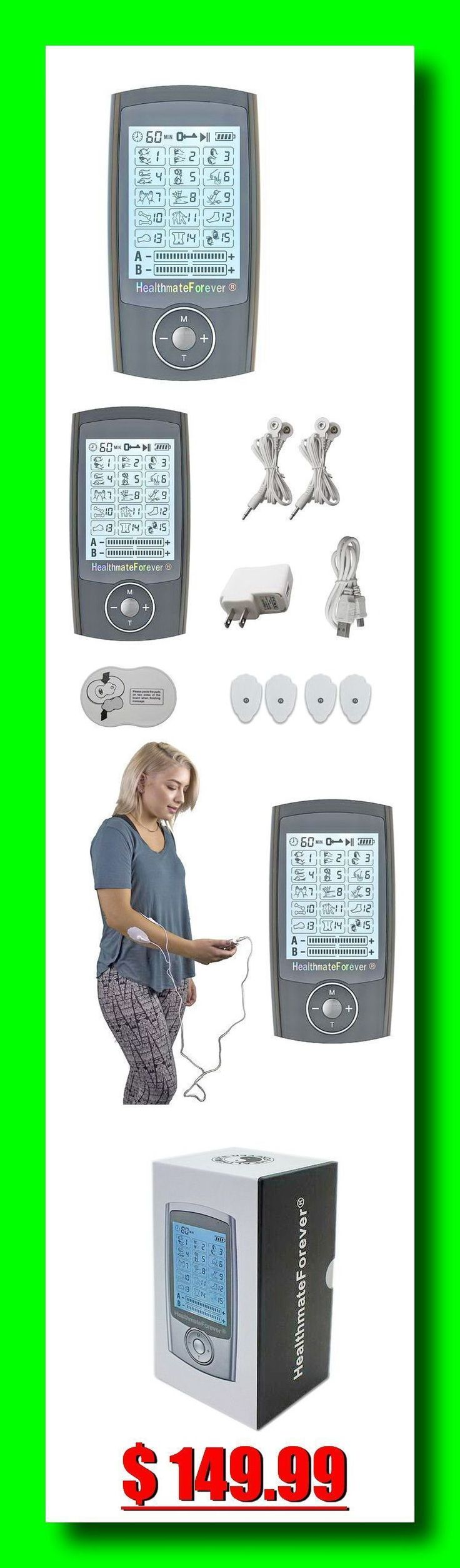 Best 25 deep muscle massage ideas on pinterest massage pro15ab healthmateforever tens unit muscle stimulator 30 off use coupon code love30 15 preprogrammed massage modes with different waveforms tuina fandeluxe Gallery