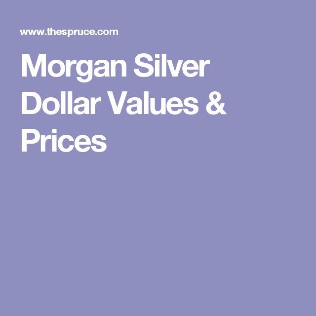 Morgan Silver Dollar Values & Prices