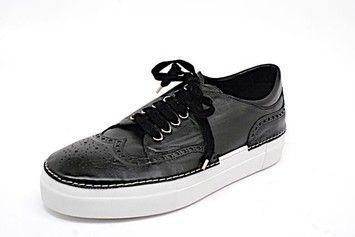 Rocco P. P Spectator Sneaker Black Platforms