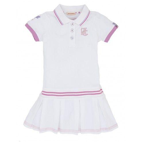 Hatley Stretch Pique Girls' Tennis Dress