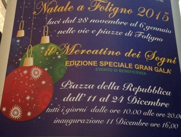 #Mercatini di #Natale 2015 a #Foligno