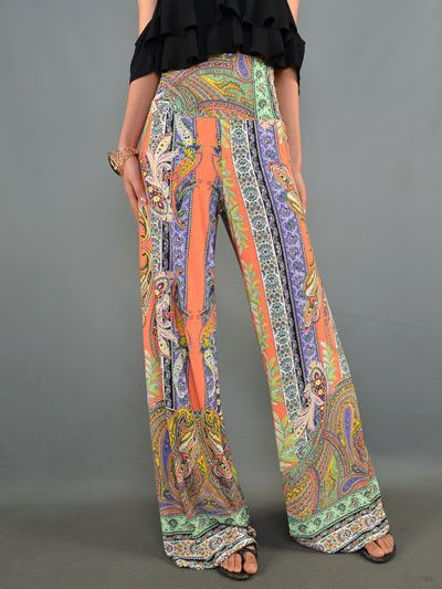 146fa47dba9 Sherbet Paisley Wide Leg Pants from Gypsy Outfitters