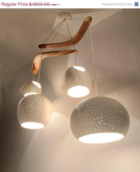 Chandelier Lighting Claylight Boomerang Xl