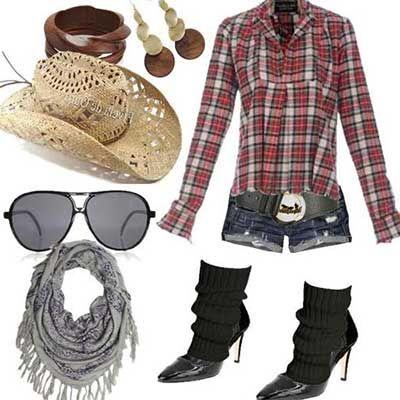 Mais #looks da #modafeminina http://modaebeleza.org/moda-country-feminina/