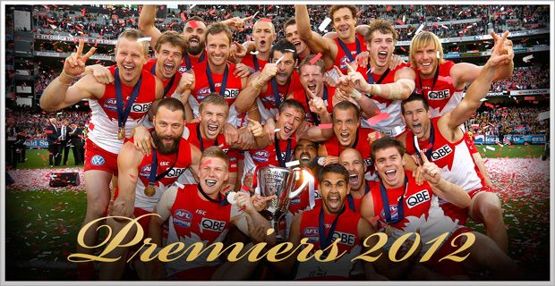Best. Day. Ever. Sydney Swans 2012 Premiers