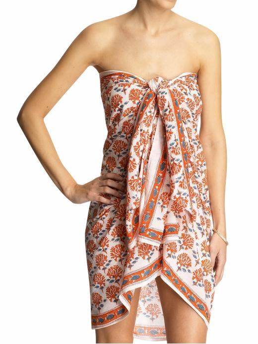 Cute way to tie a sarong!