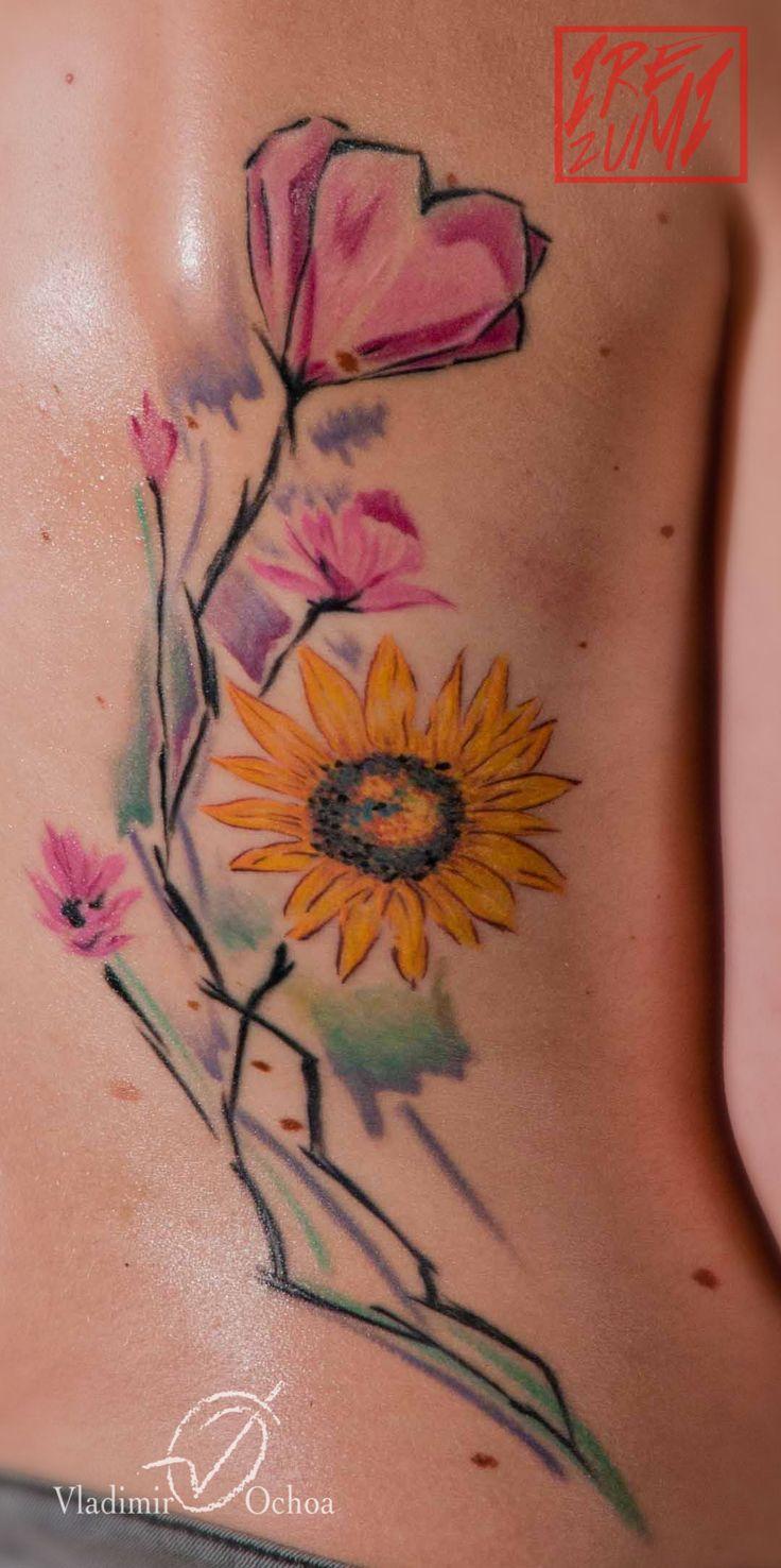 #watercolor #tattoo #irezumi #pescara