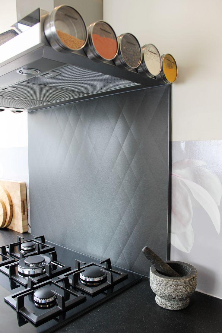 16 best RVS Achterwanden - stainless steel backsplash images on ...