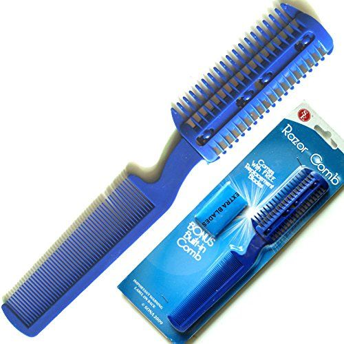 Pet Hair Trimmer Comb Cutting Cut Dog Cat With 4 Blades Grooming Razor thinning *** To view further for this item, visit the image link.