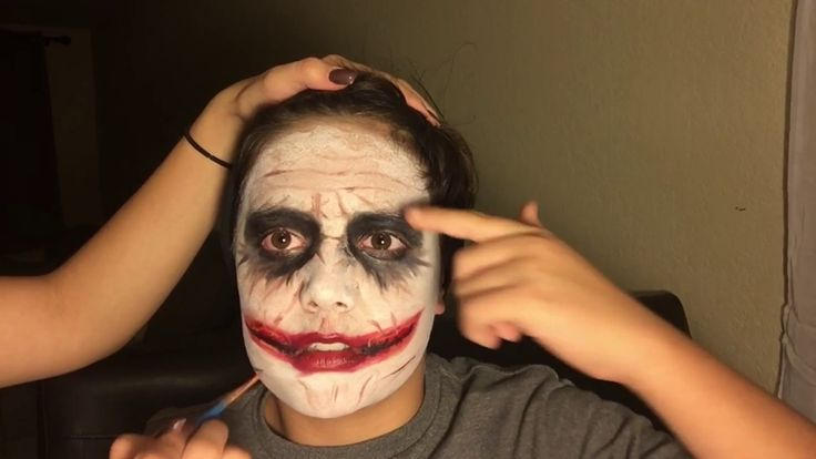 Easy THE JOKER Makeup (Heath Ledger)